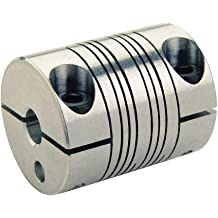 Ruland Manufacturing Co Inc MCLC-12-12-SS MCLC Series Side 2: 12 mm Clamp-On Rigid Coupling Bore Bright Bore Side 1: 12 mm 303 Stainless Steel