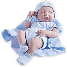 JC Toys Berenguer 18007 La Newborn Moments Bunny Theme w Accessory Real Girl