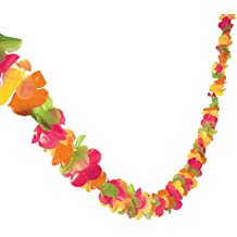 36 6 Ct. Amscan Two Tone Party Fringe Lei