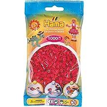 Bulk Buy Hama Grey 207-17 Color  Iron On Midi Beads 5 Pack