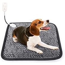 LANGMAN Pet Heating Pad,Pet Heating Pad for Kittens Puppies and Dogs Cats