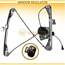 WIN-2X New 1pc Front Passenger Side Power Window Regulator /& Motor Assembly Fit 99-04 Oldsmobile Alero 99-05 Pontiac Grand Am 2-Door Coupe With Electric Window Lifters Right