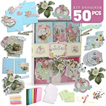 Card Making Kit Makes 120... Paper Craft Pads Bears Greyscale Collection