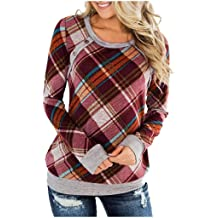 Fctorua Womens Fashion Long Sleeve Hollowing Stand-Neck Zipper Sweatshirt Tops Clothes
