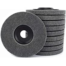 Woodstock D2503 5-Inch by 40 Ply by 1//2-Inch Hole Buffing Wheel