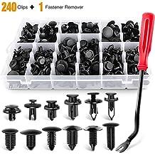 Easy Click 11450 Number Plate Holder 19 x 11.90 x 1.20 cm Black