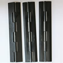 Displays Hinged Hasp Staple Hasps,Tanks 2 x Black Acrylic Hasps /& Staple 60mm x 27mm x 18mm 2-23//64