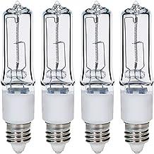 50 Watt Halogen Light Bulb Lamp JCD50//CL//G8 Plusrite 3410