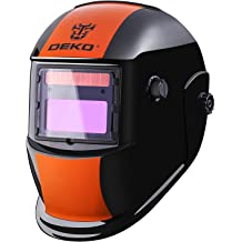 Wide Shade Range 4//5-9//9-13 with Grinding 6+1 Extra Lens Covers Stable for TIG MIG MMA Plasma Dual Power Solar Battery Antra Welding Helmet AH7-360-7311 Auto Darkening