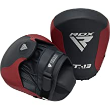 Starpro Boxing Pads Focus Mitts MMA Hook /& Jab Target Training Muay Thai Punching Strike Kick Shield Kickboxing Martial Arts