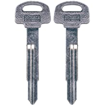 Set of 2 key blank uncut blade ilco X212-TR46
