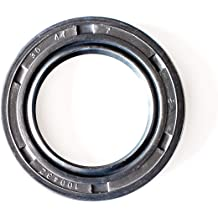 Oil Seal Grease Seal TC 2 PCS Oil Seal 25X35X6 EAI Double Lip w//Garter Spring 25mmX35mmX6mm Single Metal Case w//Nitrile Rubber Coating 0.984x1.378x0.236
