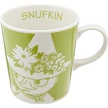 Snufkin Moomin Mug Yamaka Botanical Japan Ceramic Porcelain friend Snusmumrik