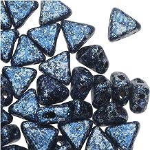 L108//2 3 Hole Arcos® par Puca® Czech Glass Beads Dark Bronze 8g