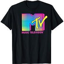 MTV Logo Fluorescent Colors Tank Top