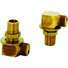 2 H Compression Cartridges 4 Arm Handles Stream Reg 8 Centers Concealed Body 9 Swing Nozzle T/&S Brass B-2856 Lav Faucet
