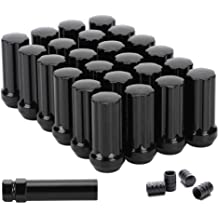 OCPTY Lug Nuts 32 PCS 1.72 Inches Tall 14x1.5 Chrome Spline Tuner Racing Lug Nuts fits Chevrolet Ford GMC Hummer 1993-2013