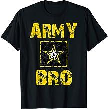 Proud US Army Brother Veteran Mens Athletic Round Collar Long Sleeve Tee Shirts Raglan Top