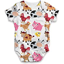 Twisted Envy Lucky Charm Baby Unisex Funny Baby Grow Bodysuit