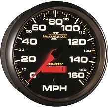 Tachometer 8K RPM Marine Silver Auto Meter AutoMeter 200779-33 Ultra-Lite Gauge 3 3//8