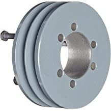 3V Belt Section JA Bushing required TB Woods 3V3151 Narrow V-Belt Sheave 1 Groove Cast Iron 3.15 OD