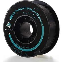 3D Solutech Real Black 3D Printer Pla Filament 1.75Mm Filament Dimensional Accu