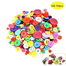 """20 SUGAR SKULL 2-hole Wooden Buttons About 1/"""" each Scrapbook Doll 0268"""