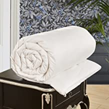 22b5ce615 LilySilk All Season Luxury Silk Comforter with Cotton Covered 100% Silk  Duvet Queen 87x90 Inches