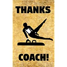 Thanks Coach! Badminton Rackets Shuttlecocks Birdie Coaching Coaches Prompted Blank Book 5 x 8