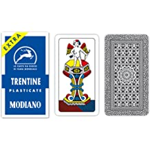 Picchetto Piquet Cambissa Trieste Deck 32 Playing Cards Italian Modiano