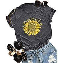 87fab27b I Just Wanna Soak Up The Sun Sunflower T-Shirt Women Cute Funny Graphic Tee