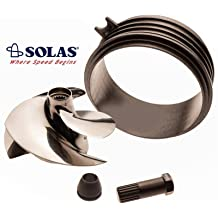Solas Sea Doo 4-Tec Impeller SR-CD-12//20 W//Wear Ring /& Tool GTX 185 SC 03-06