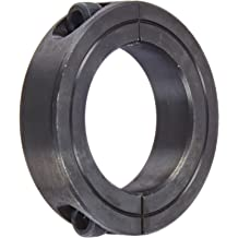 """Climax Metal 1C-100-S 1/"""" ID 1 Piece Split Stainless Shaft Collar"""