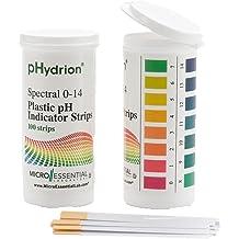 1.0-2.5 pH Micro Essential Lab 315 Hydrion Short Range pH Test Paper Dispenser Single Roll