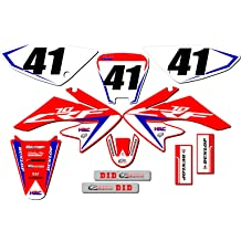 SCATTER Team Racing Graphics kit compatible with Honda 2004-2010 CRF 80//100