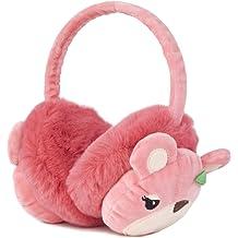 Funbase Kids Unicorn Plain Earwarmer Cat Ear Winter Earmuffs Plush Ear Cover For 1-5 Y