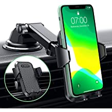 VOLPORT Windshield Phone Mount Universal Windscreen Dashboard Long Arm Window Car Cradle Suction Cup Phone Holder Stand for iPhone Xs Max XR X 8 8 Plus 7 6 6S Samsung Galaxy J7 S9 S8 S7 Google Pixel 4351482654