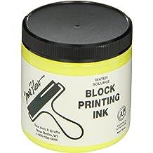 8 Ounce Jars Assorted Colors Sax Versablock Block Printing Inks Set of 8