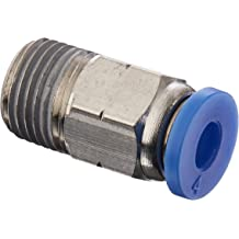 MSC 10-N02-10PK MettleAir MSC 10-N02 Push to Connect Meter Out Male Speed Control Fitting 1//4 NPT 1//4 NPT 10 mm OD Pack of 10 10 mm OD Pack of 10