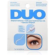 a3edbe1d632 DUO Strip Lash Adhesive White/Clear, for strip false eyelash, 0.25 oz