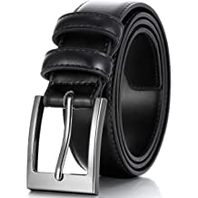 12c05d7796 Marino's Men Genuine Leather Dress Belt with Single Prong Buckle.