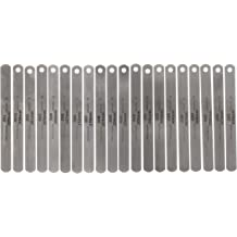 C1095 Hard Steel Precision Brand PBK-50 High Carbon Steel Flat Feeler Gage Stock .050 Inch Thick x 1//2 Inch x 12 Inch Flat