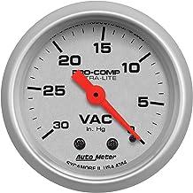 Auto Meter 6359 Sport Comp Digital 2-1//16 30 In Hg.-Vac.//30 PSI Digital Vacuum//Boost Gauge