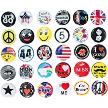 Motivation Awards for Kids 6 Style Employees Pinback Buttons Brooch Lapel Printed Positive Word Students 60PCS Reward Button Pins Co-Workers Recognition Button Round Pins as Incentive