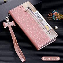 Dark Pink Amocase Soft Silicone Case with 2 in 1 Stylus for Samsung Galaxy S10,Cute Sweet Candy Color Wrist Strap Stand Shockproof Anti-Scratch Flexible Case