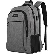 392366ae34d Travel Laptop Backpack,Business Anti Theft Slim Durable Laptops Backpack  with USB Charging Port,Water Resistant College School Computer Bag for .