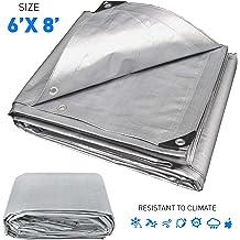 ALEKO TR12X16BL Multi-Purpose Polyethylene Plastic Tarp Waterproof for Camping Automotive Construction 12 x 16 Feet Blue