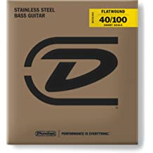 DUNLOP DBS90 Stainless Steel Medium Bass Guitar Single String.090-Gauge