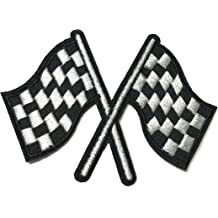 2.4 inches 6 cm 2 pieces BMW Iron On Patch Embroidered Grand Prix Motif Applique F1 Formula One Race Sports Car Decal dia