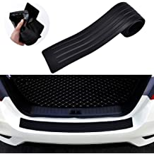 . 2.8m//9.2ft Mieziba Bumper Protector Car Guard Universal,Carbon Fiber Rubber car Bumper Door Guard//Rear Bumper Guard Scratch Scratch Protection Strip 100/% Waterproof